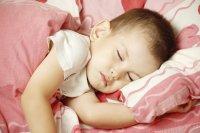 Dziecko śpiące